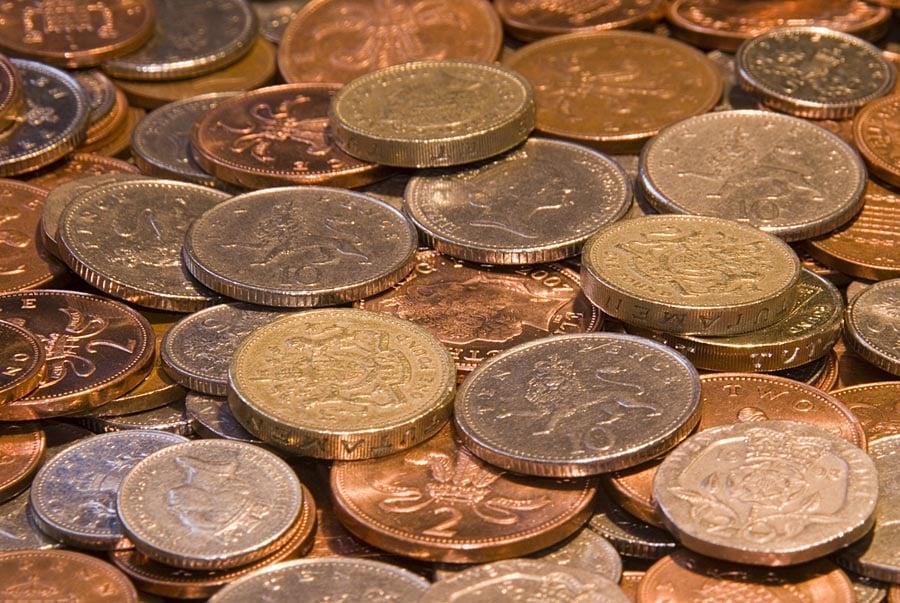 GBP coins