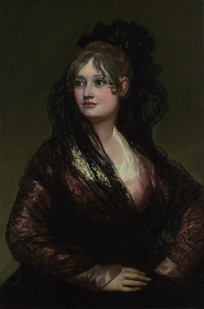 Portrait of Doña Isabel de Porcel