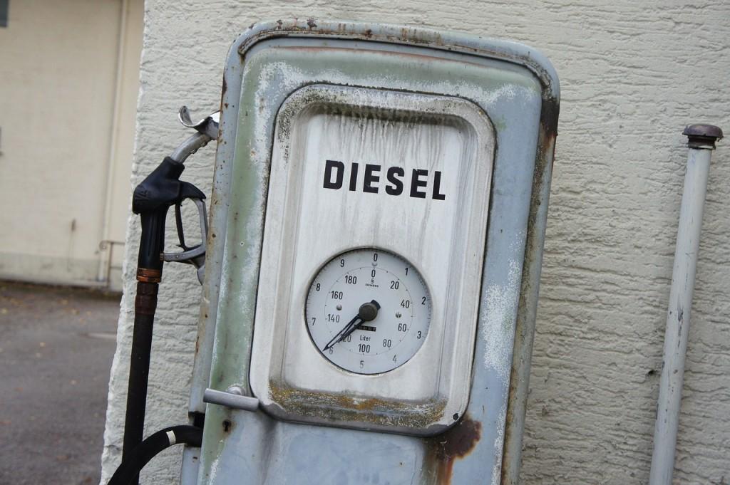 Old diesel pump (PD)