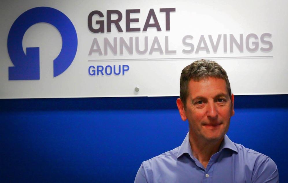 Phil Ball non-executive director Great Annual Savings Group