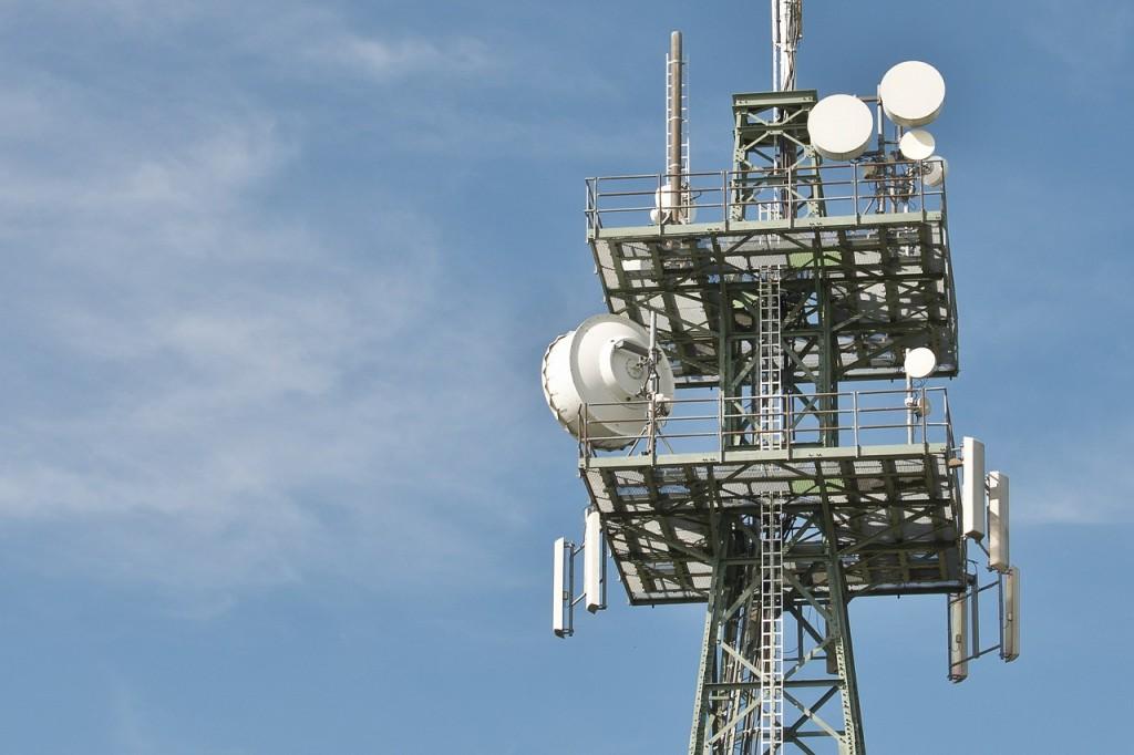 Telephone radio mast (PD)