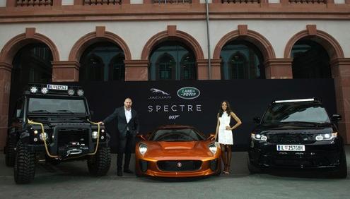 jaguar land rover spectre bond cars