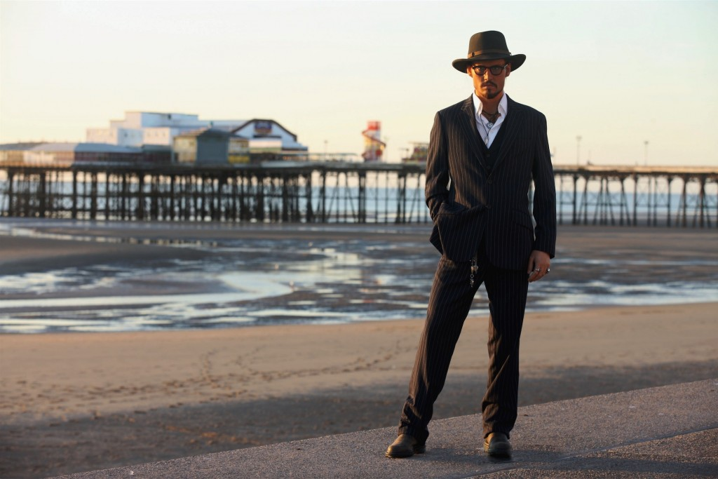 Johhny Depp in Blackpool