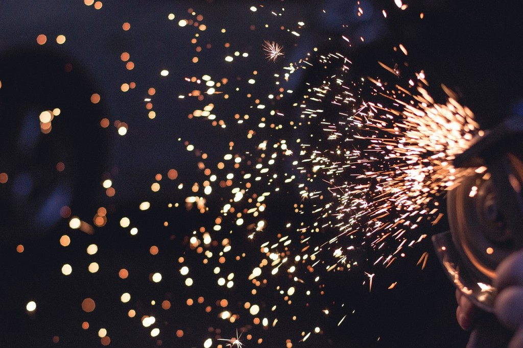 Manufacturing sparks (PD)