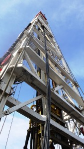 Oil gas rig (PD)
