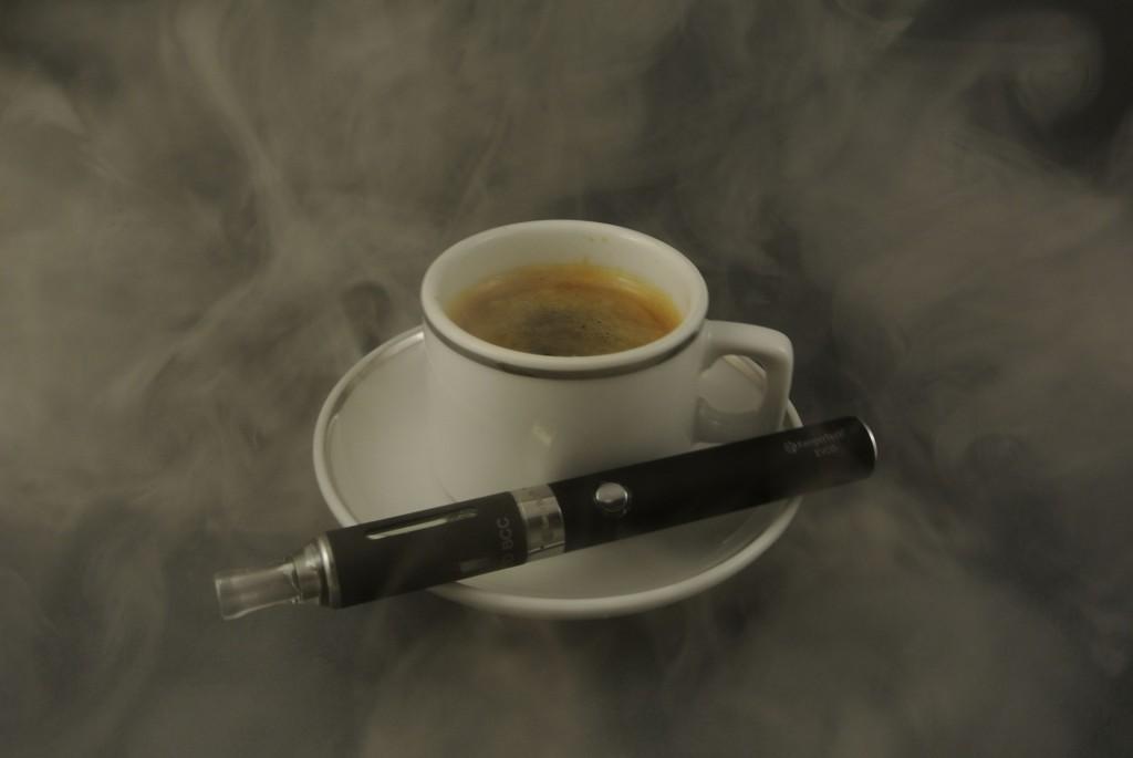 Vaping e-cigarette (PD)
