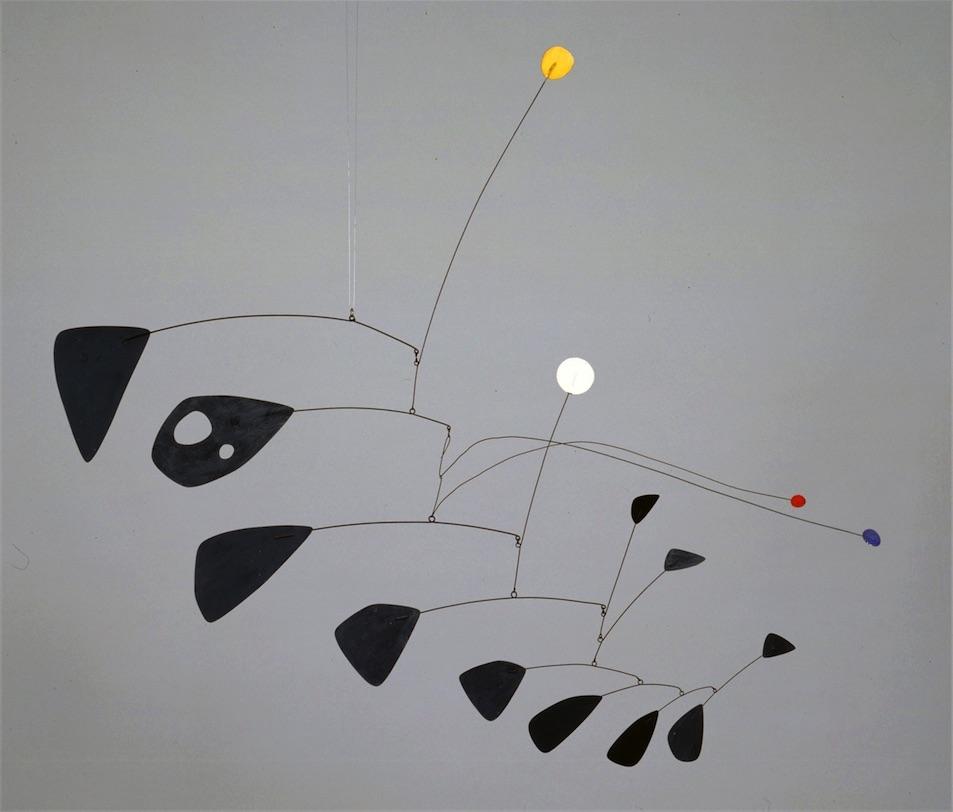 Alexander Calder Performing Sculpture