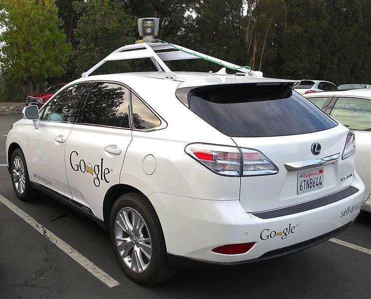 Google driverless car by Steve Jurvetson (CC-BY-2.0)