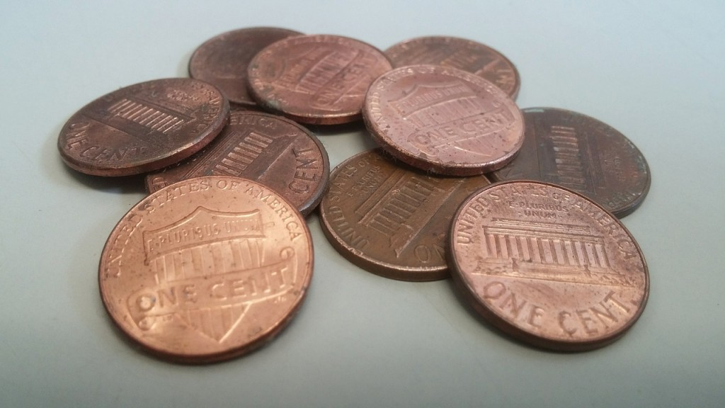 One Cent Pennies (PD)