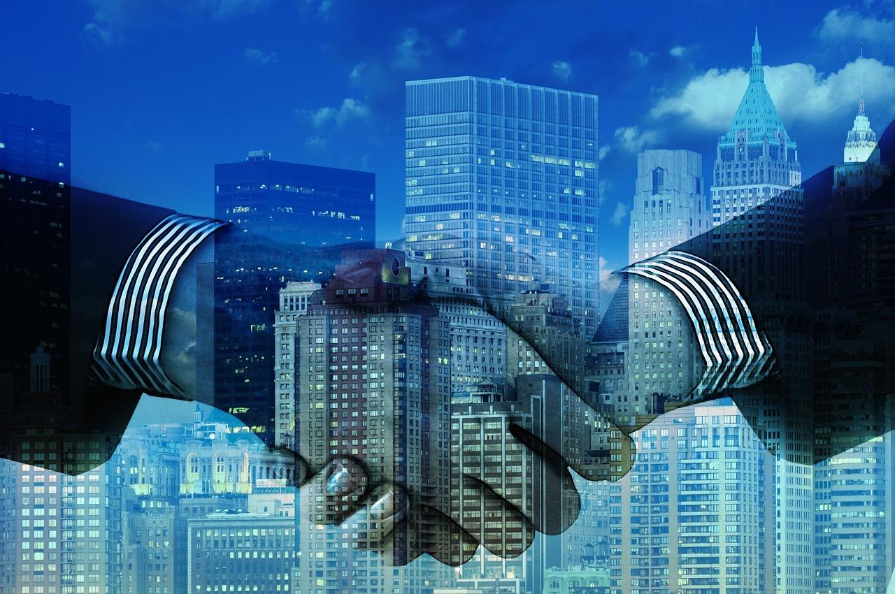 Business Handshake (PD)
