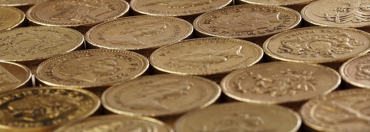 GBP coins flat (PD)