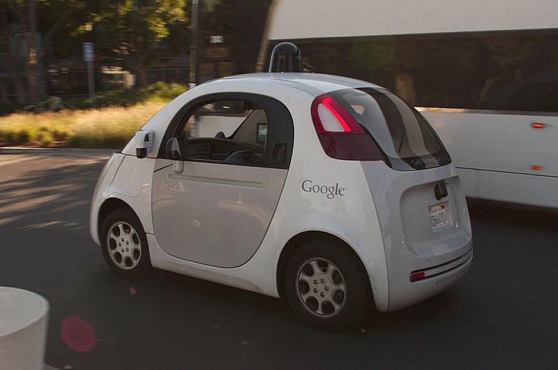Google Driverless Car By Michael Shick (CC-BY-SA-4.0)