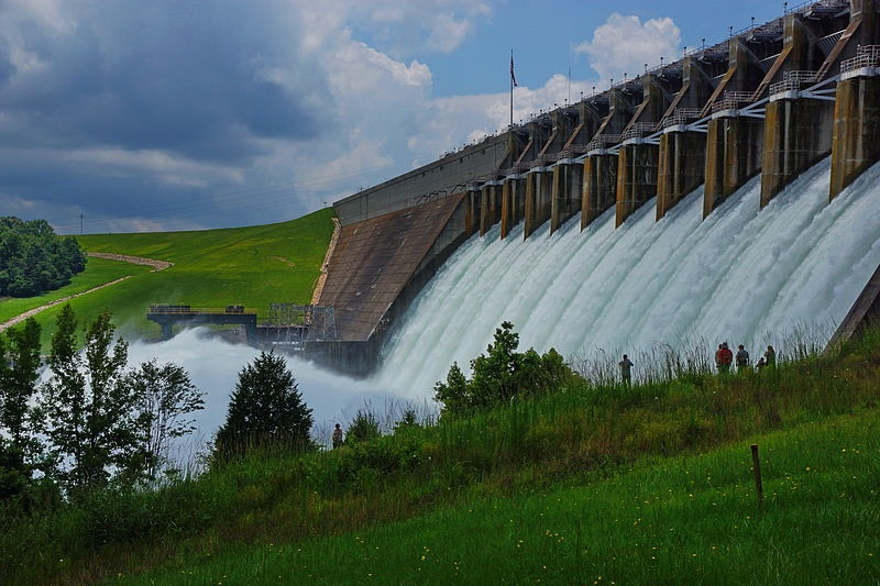 Hartwell Dam Ga US by Doug Young US Army (CC-BY-2.0)