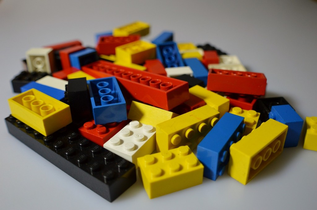 Lego bricks (PD)