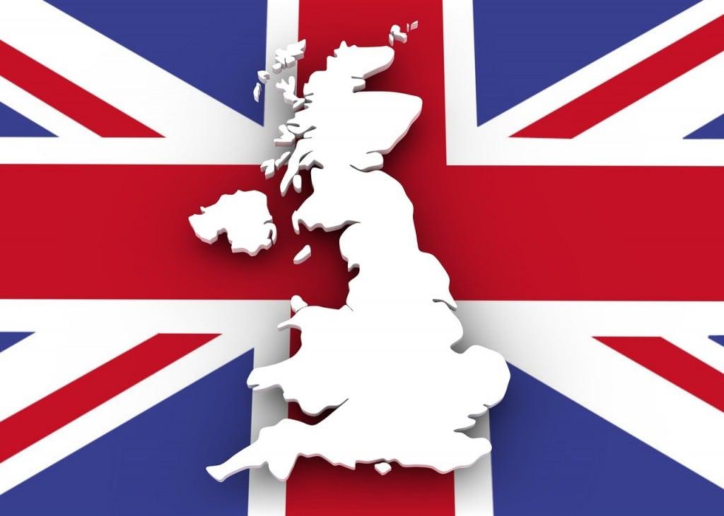 UK Map (PD)