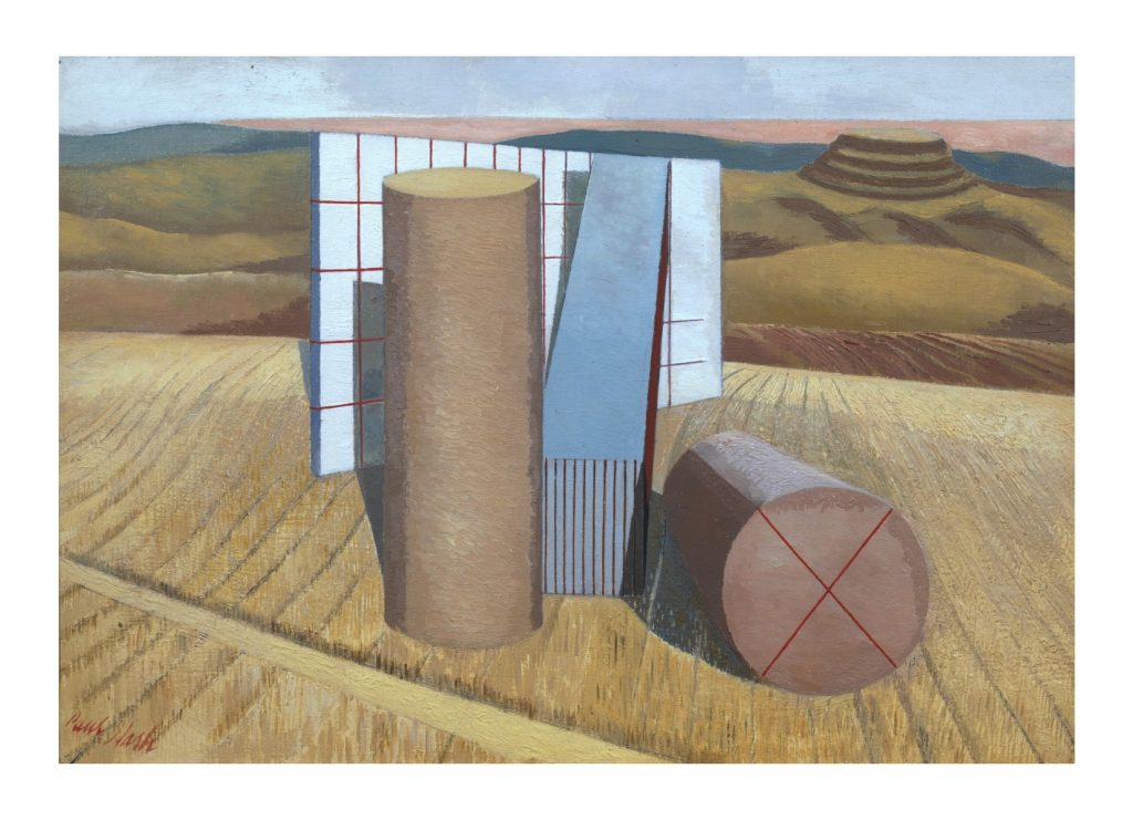 Paul Nash Equivalents for the Megaliths 1935 Tate
