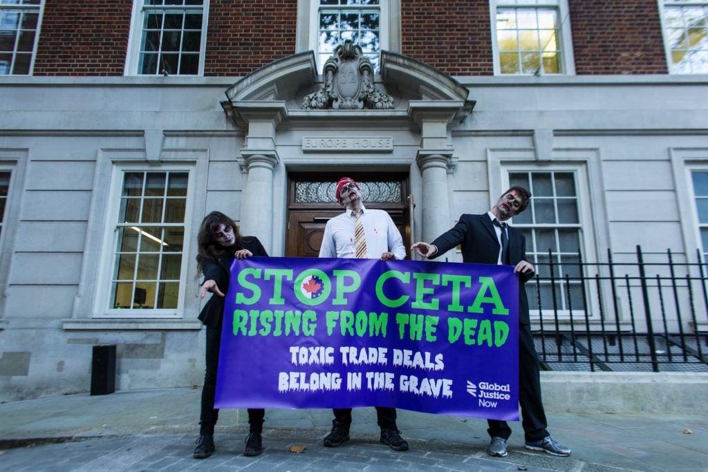 Stop CETA by Joyce Nicholls Global Justice Now