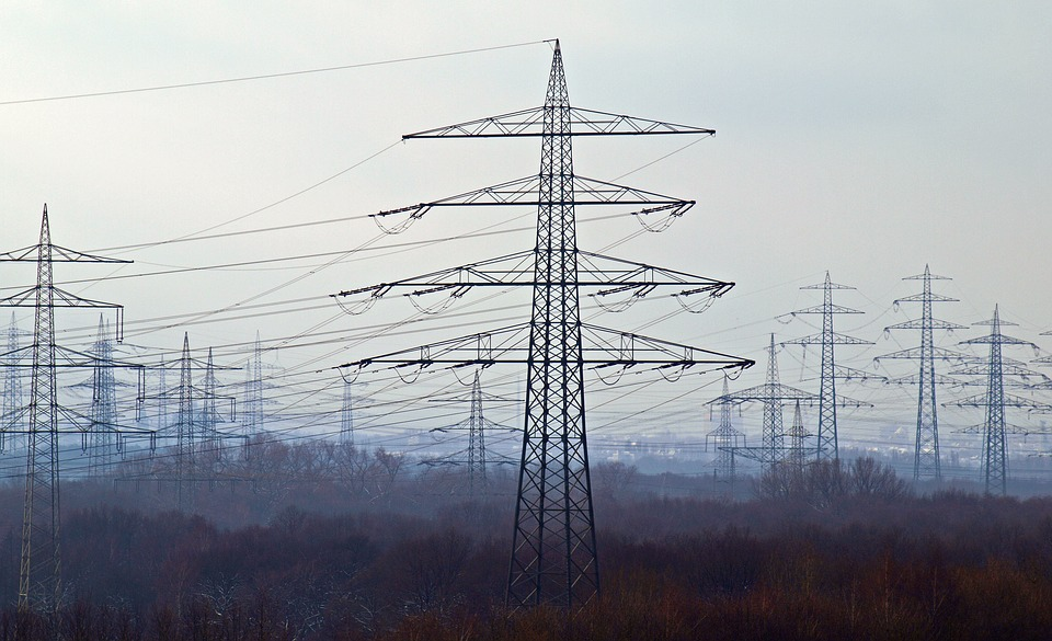 Electricity Pylons (PD)