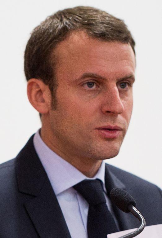 Emmanuel Macron By Ecole polytechnique Université Paris (CC-BY-SA-2.0)