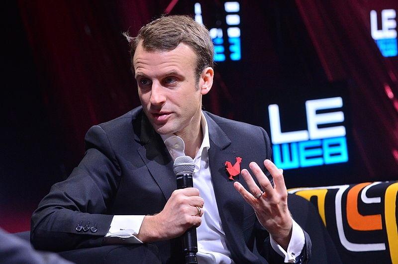 Emmanuel Macron by Leweb (CC-BY-2.0)
