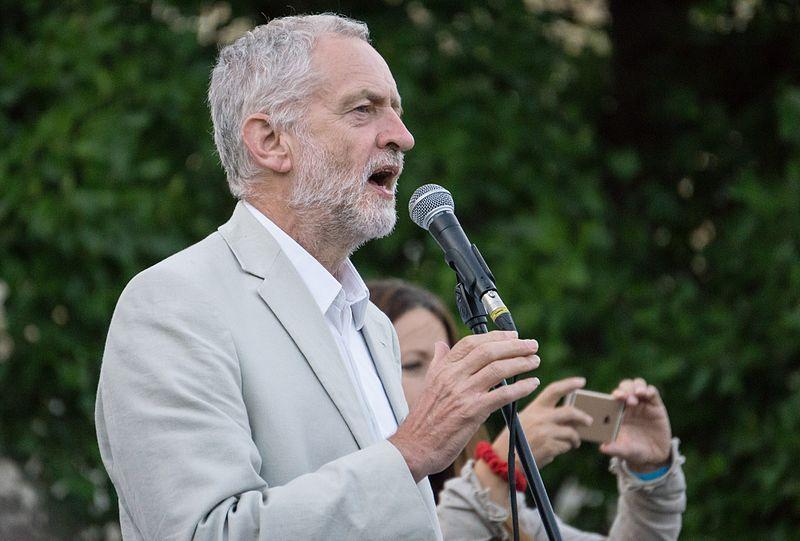 Jeremy Corbyn By Paul New (CC-BY-2.0)