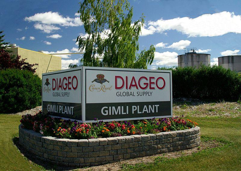 Diageo Gimli Plant Manitoba Canada