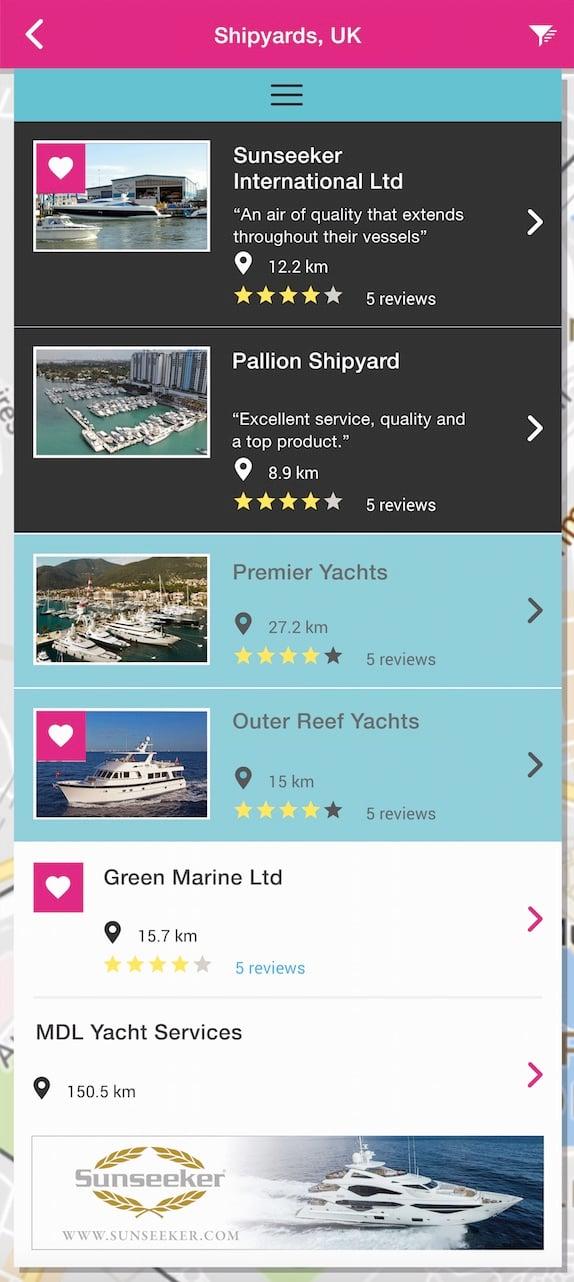 Superyacht App