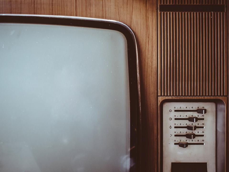 Vintage tv set (PD)
