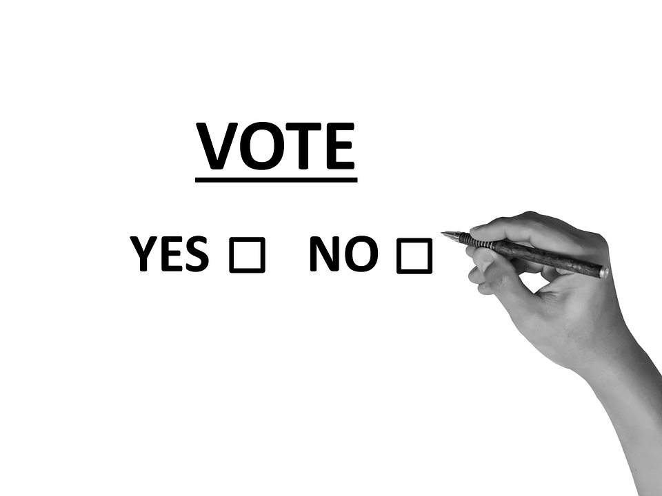Vote yes or no (PD)