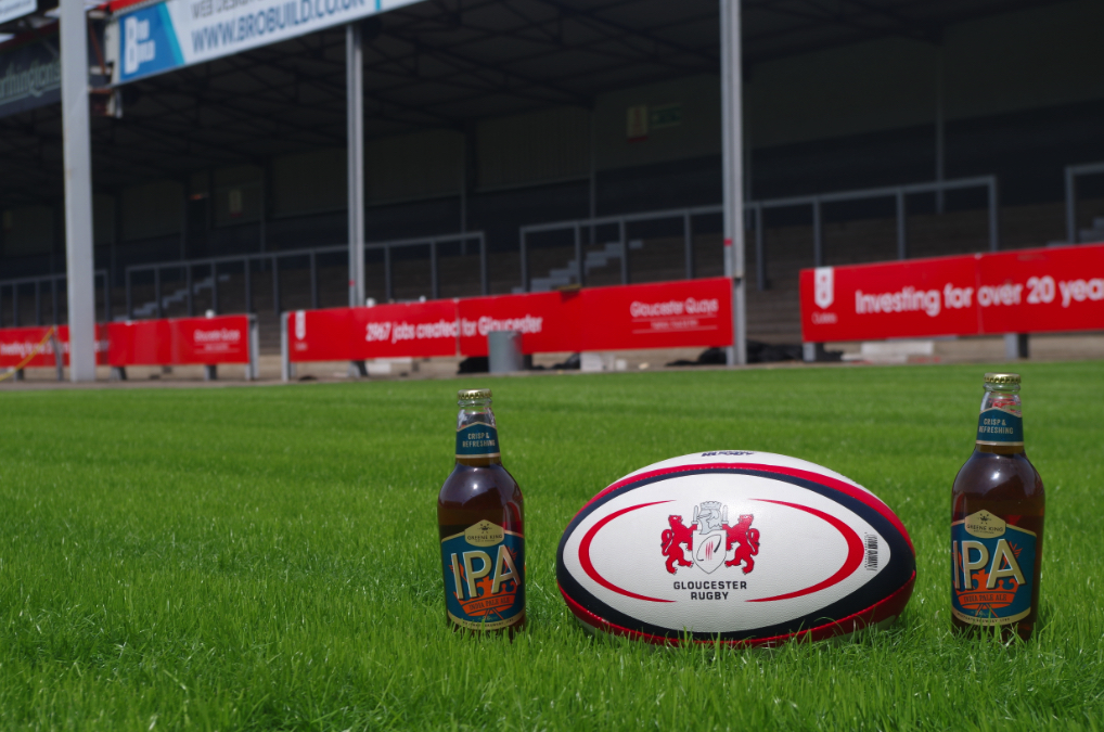 Greene King and Gloucester Rugby