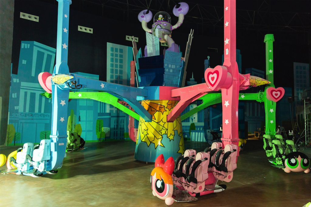 IMG Worlds of Adventure Powerpuff Girls Ride