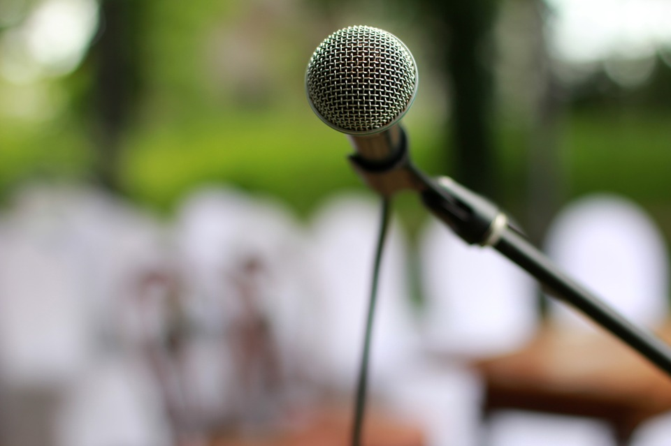 Microphone Speech (PD)