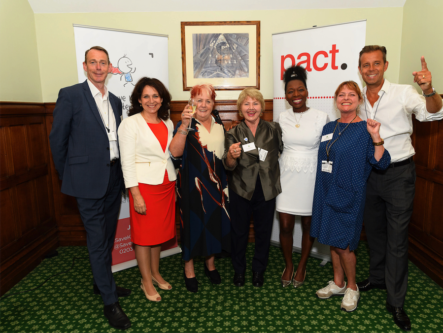 Save Kid's Content - John McVay, Julie Elliott MP, Anne Wood CBE, Annette Badland, Baroness Benjamin OBE, Janet Ellis MBE, Pat Sharp