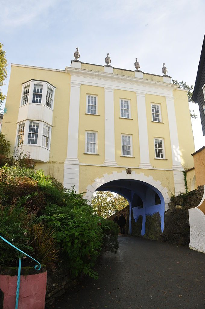 Portmeirion By Nilfanion (CC-BY-SA-4.0)