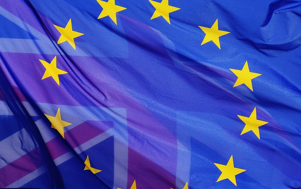 UK-EU Flags (PD)