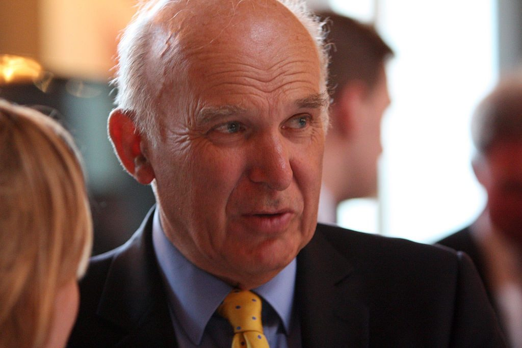 Vince Cable By FCO (OGL)