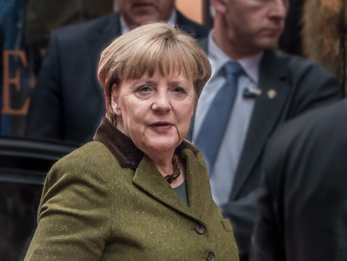 Angela Merkel By Frankie Fouganthin (CC-BY-SA-4.0)