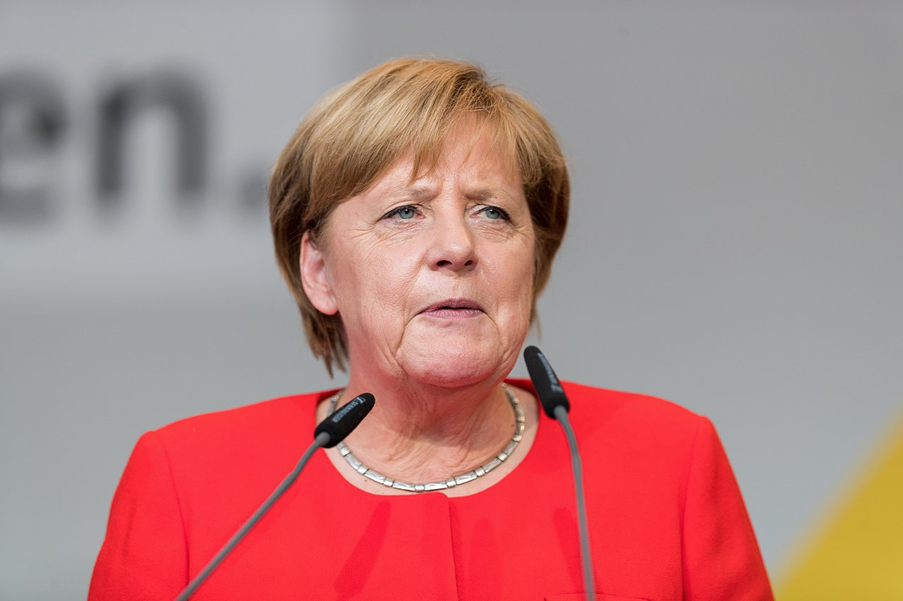 Angela Merkel By Sven Mandel (CC-BY-SA-4.0)