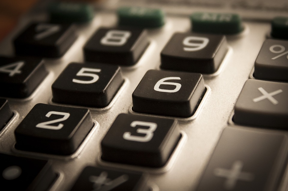 Calculator keypad (PD)