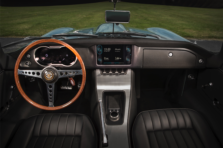 Jaguar E-type Zero Interior
