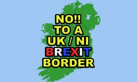 No to a Brexit border in the Irish Sea!
