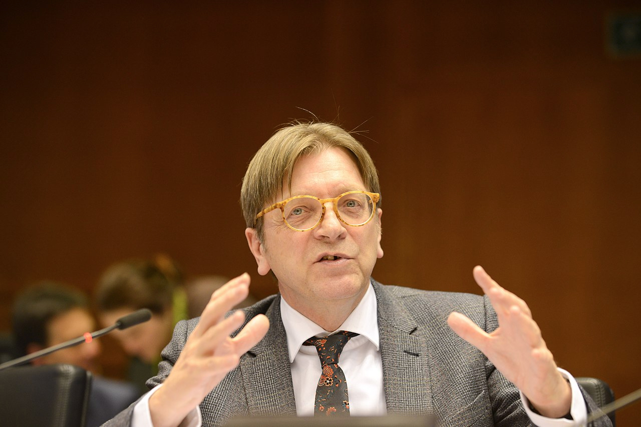 Guy Verhofstadt By EPP Group in the CoR (CC-BY-2.0)