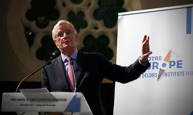 Barnier insists UK takes permanent ECJ oversight!