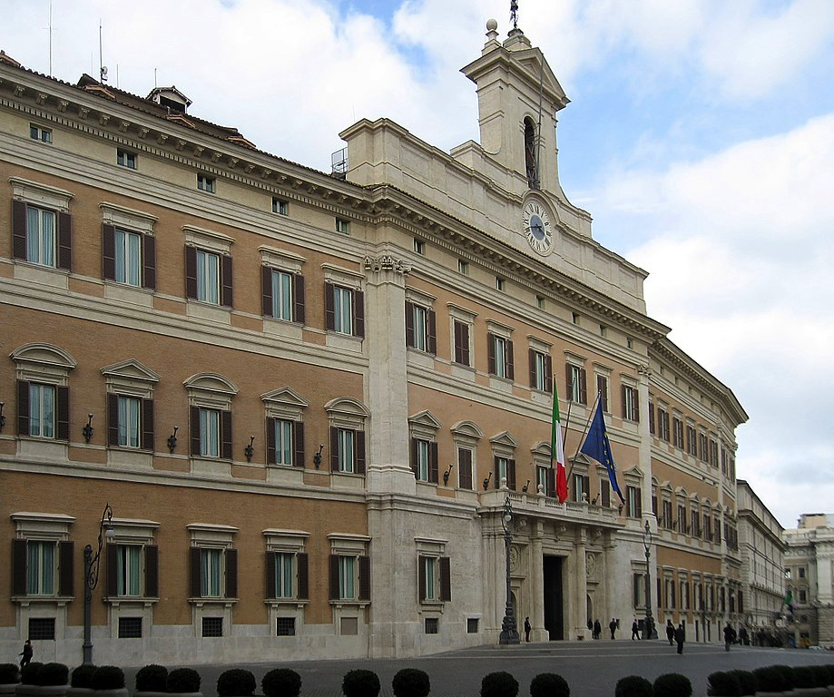 Seat of the Italian Chamber of Deputies By Manfred Heyde (CC-BY-SA-3.0)