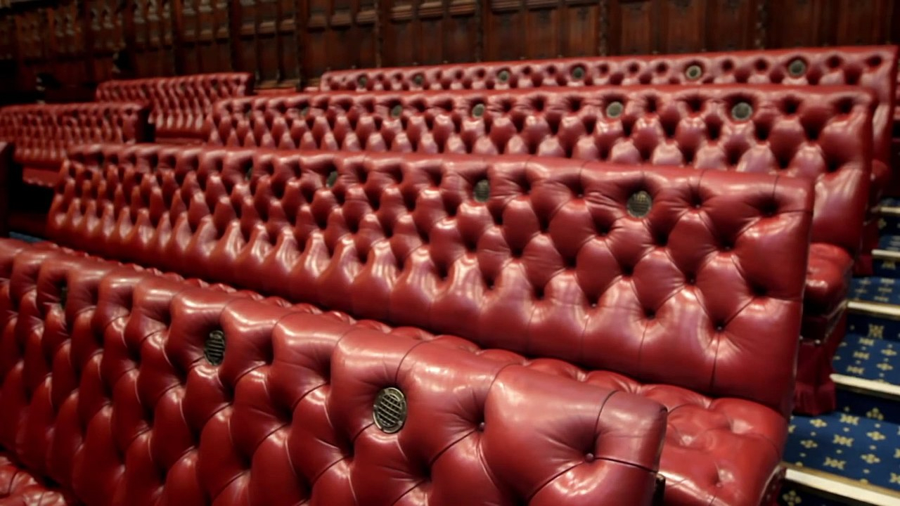 House of Lords Red Benches (CC-BY3.0)