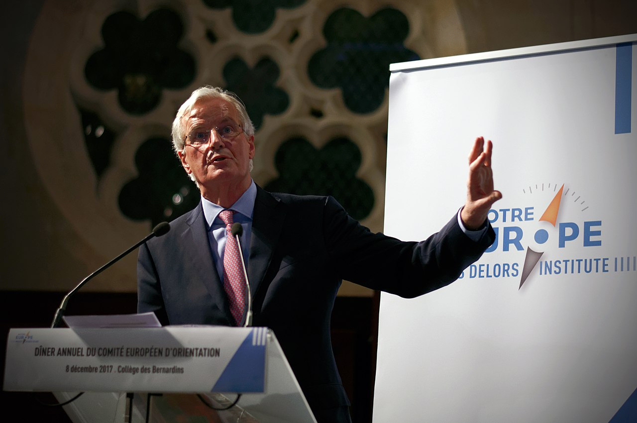 Michel Barnier By The Jacques Delors Institute (CC-BY-2.0)