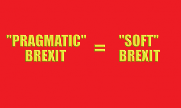 Pragmatic Brexit – the new term for Soft Brexit!