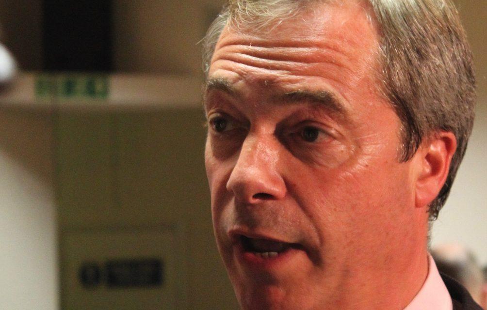 Nigel Farage is Back!