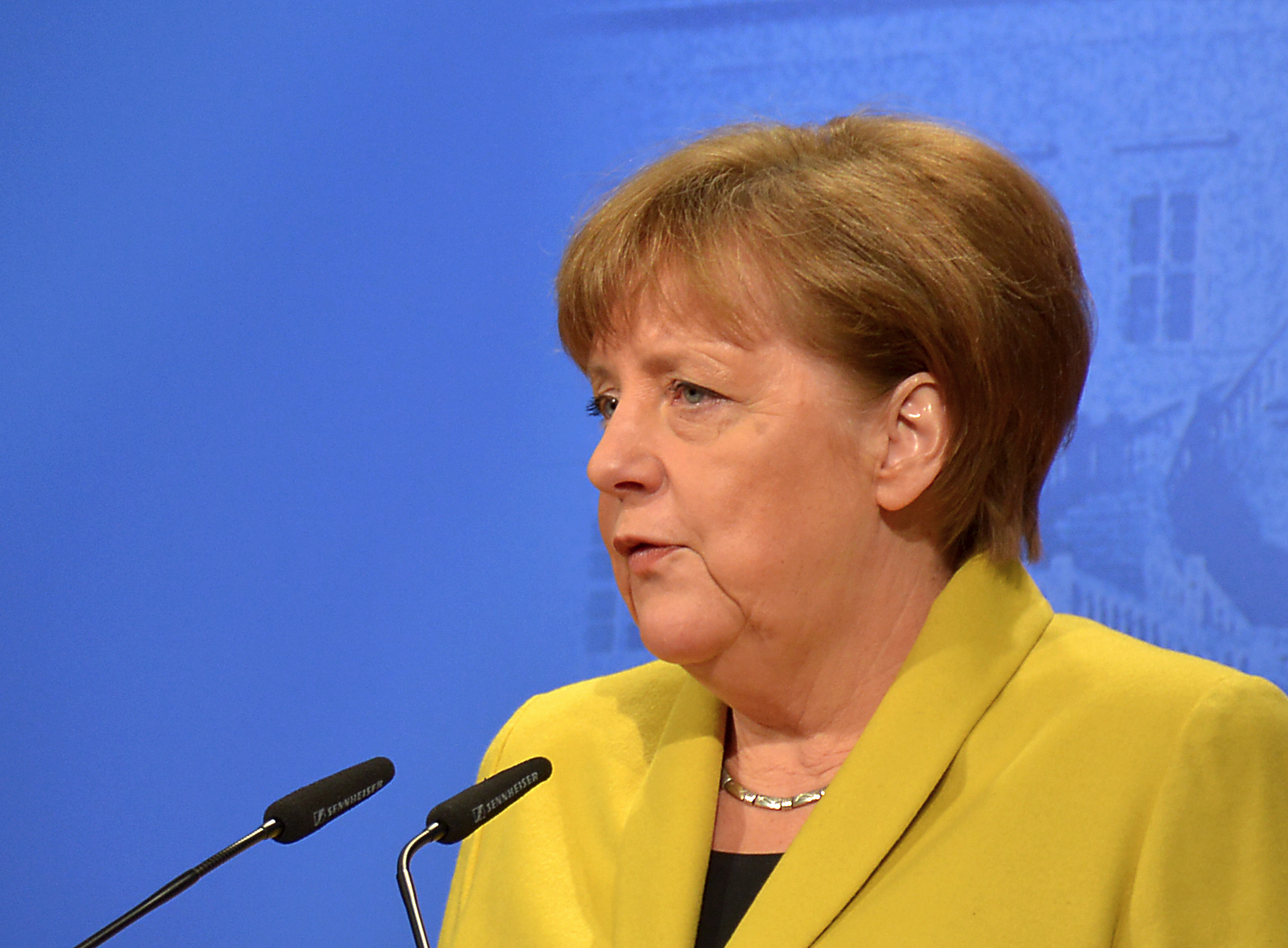 Angela Merkel By WDKrause (CC-BY-SA-4.0)