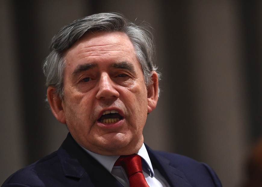 Gordon Brown by Riccardo Savi (CC-BY-SA-4.0)
